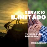 Tu Tiempo con el Número Uno…Servicio Ilimitado…4 Octubre